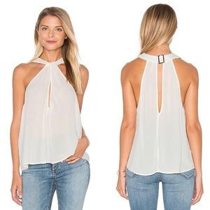Free People NEW Ivory Twist & Shout Reversible Top